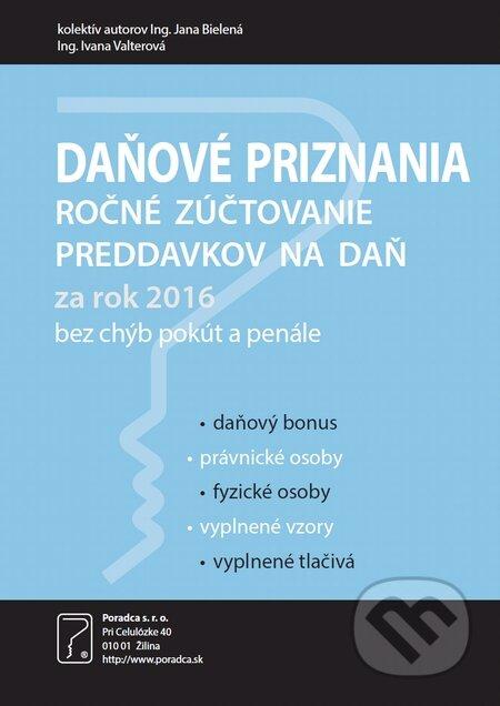Fatimma.cz Daňové priznania za rok 2016 Image