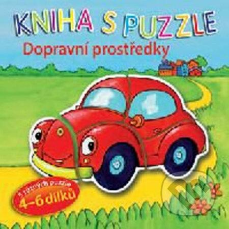 Fatimma.cz Kniha s puzzle: Dopravní prostředky Image