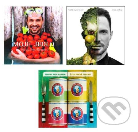 Kniha  Moje jedlo - Pyco  Kolekcia  (Martin Pyco Rausch)  f58b35b0d83