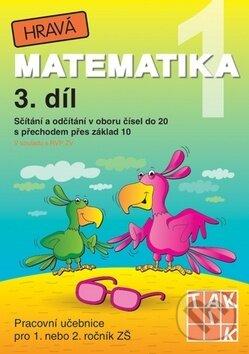 Fatimma.cz Hravá matematika 1 (3. díl) - Sčítání a odčítání v oboru čísel do 20 s přechodem přes základ 10 Image