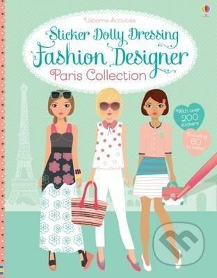 Sticker Dolly Dressing: Fashion Designer - Fiona Watt, Stella Baggott (ilustrácie)