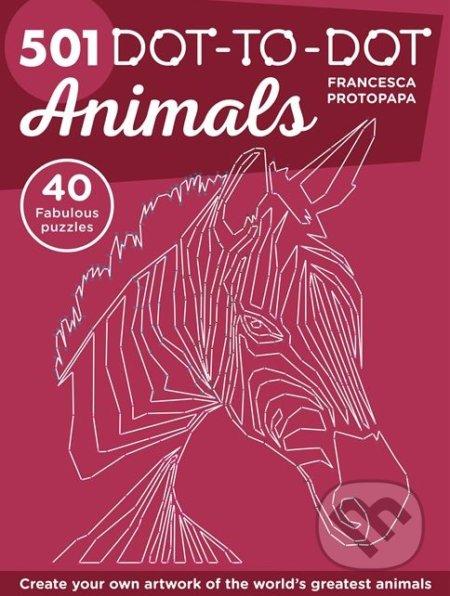501 Dot-to-Dot Animals - Francesca Protopapa