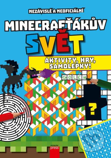 Bthestar.it Minecrafťákův svět: Aktivity, hry, samolepky! Image