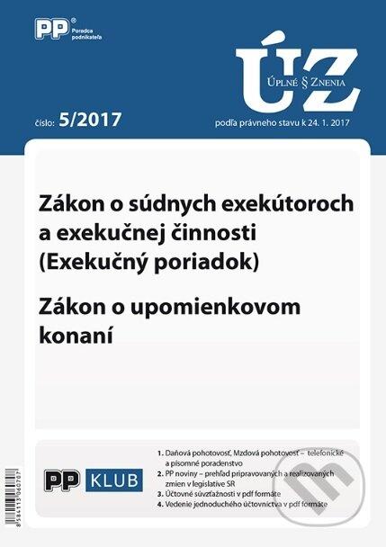 Fatimma.cz Úplné znenia zákonov 5/2017 Image