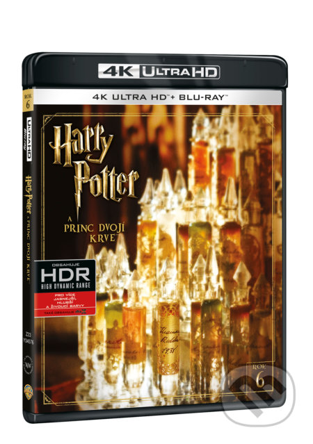 Harry Potter a Princ dvojí krve Ultra HD Blu-ray - David Yates
