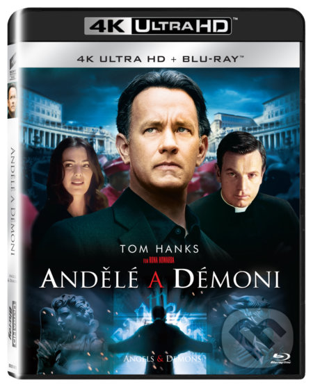 Andělé a démoni Ultra HD Blu-ray - Ron Howard, François Orenn
