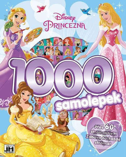 Interdrought2020.com Disney Princezny - 1000 samolepek Image