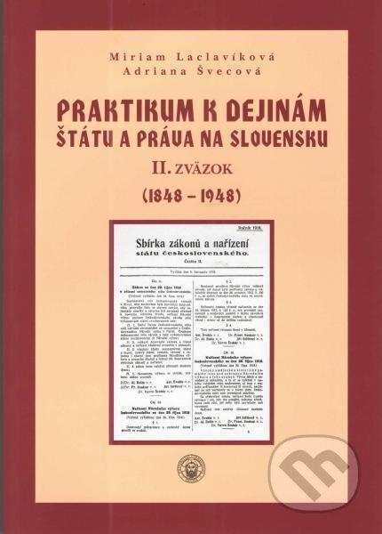 Fatimma.cz Praktikum k dejinám štátu a práva na Slovensku II. Image