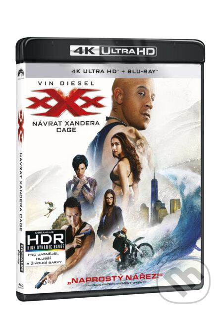 xXx: Návrat Xandera Cage Ultra HD Blu-ray UltraHDBlu-ray