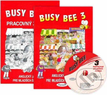 Newdawn.it Busy Bee 3: Učebnica, Pracovný zošit + CD Image