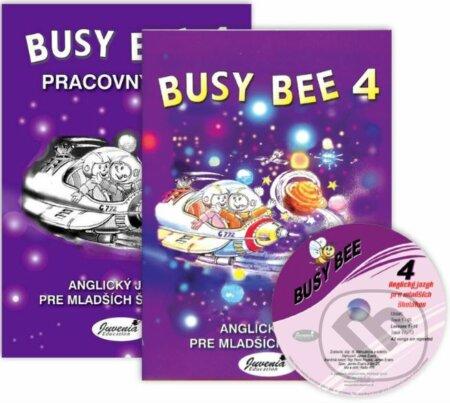 Bthestar.it Busy Bee 4: Učebnica, Pracovný zošit + CD Image