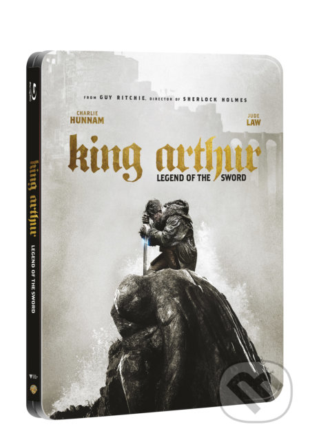 Král Artuš: Legenda o meči 3D Steelbook - Guy Ritchie