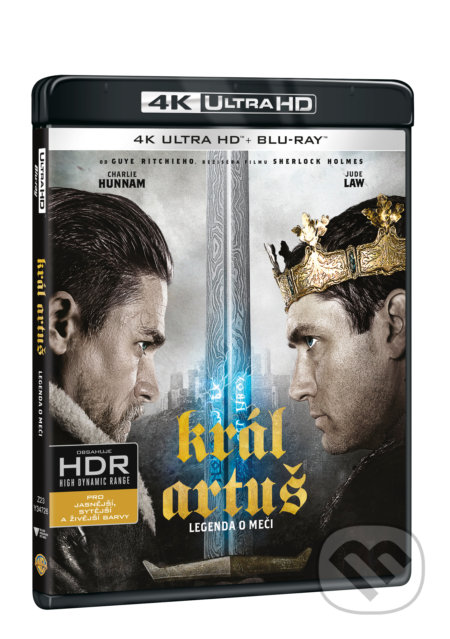 Král Artuš: Legenda o meči Ultra HD Blu-ray - Guy Ritchie