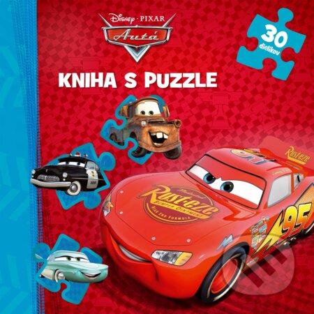 Autá: Kniha puzzle - Egmont SK