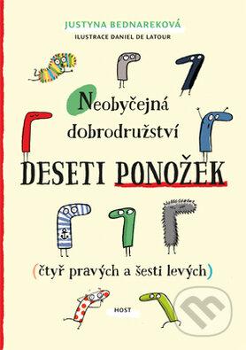 Neobyčejná dobrodružství deseti ponožek - Justyna Bednarek