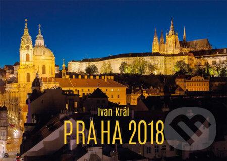 Kalendář 2018 - Praha malá - Ivan Král