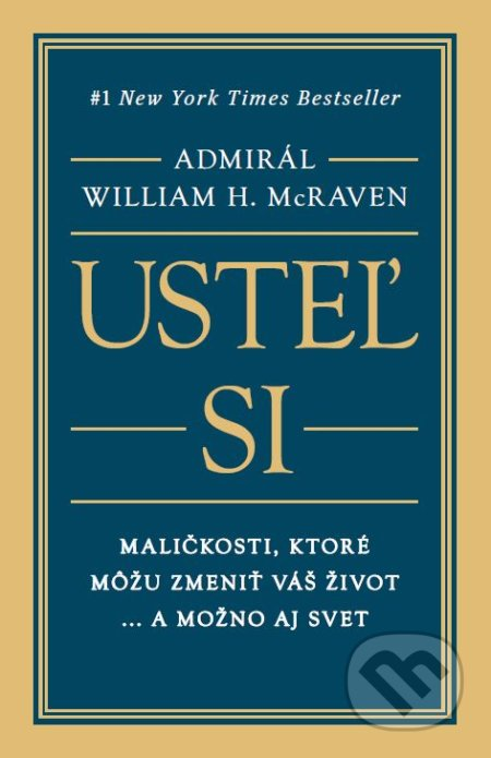 a832b8e9d00c9 Kniha: Usteľ si (William H. McRaven) | Martinus