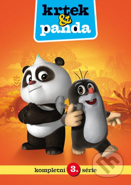 Krtek a Panda 3. DVD