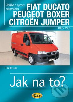 Fiat Ducato / Peugeot Boxer / Citröen Jumper (1982–2002) - Hans-Rüdiger Etzold
