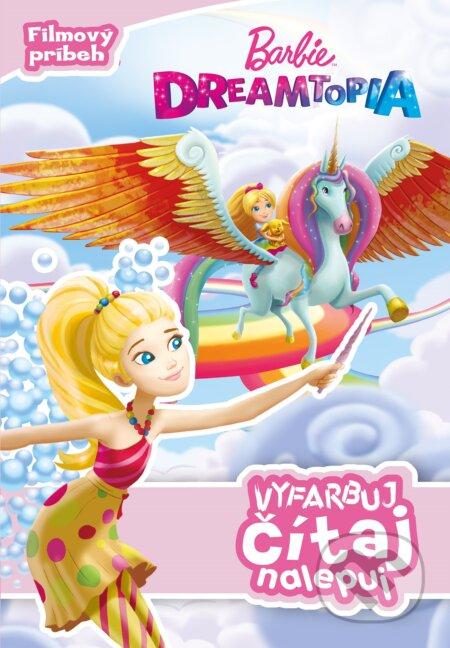 Fatimma.cz Barbie Dreamtopia: Vyfarbuj, čítaj, nalepuj Image