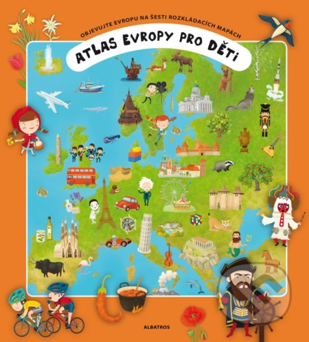 Peticenemocnicesusice.cz Atlas Evropy pro děti Image