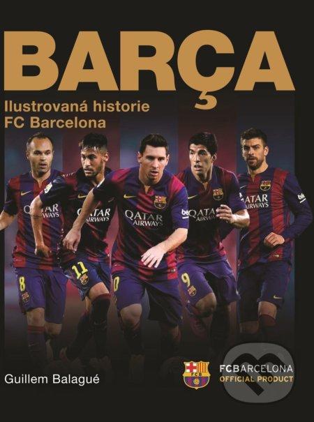 Fatimma.cz Barca: oficiální ilustrovaná historie FC Barcelona Image