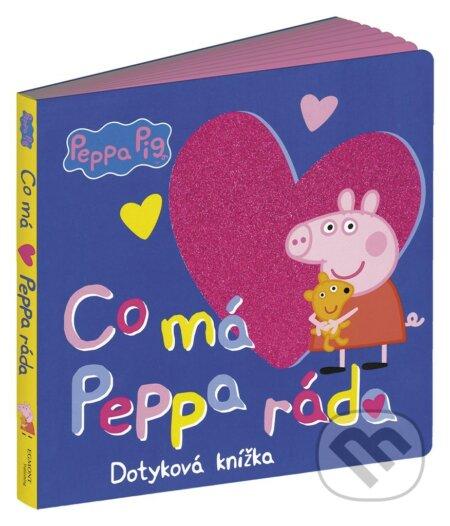 Peppa Pig: Co má Peppa ráda - Egmont ČR