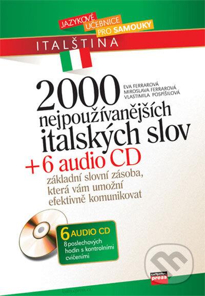 Bthestar.it 2000 nejpoužívanějších italských slov + 6 audio CD Image