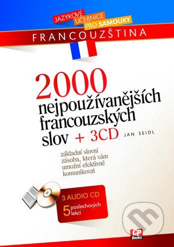 Fatimma.cz 2000 nejpoužívanějších francouzských slov + 3 CD Image