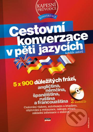 Interdrought2020.com Cestovná konverzácia v piatich jazykoch + 2 audio CD Image
