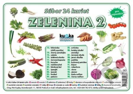 Fatimma.cz Súbor 24 kariet - Zelenina 2 Image