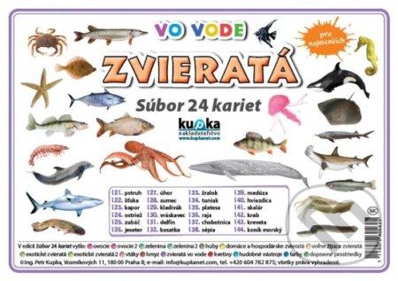 Fatimma.cz Súbor 24 kariet - Zvieratá (vo vode) Image