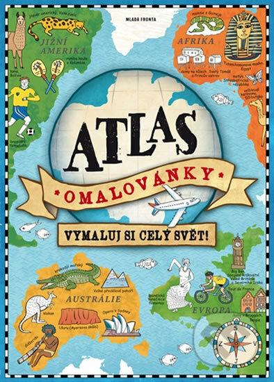 Atlas - omalovánky - Mladá fronta