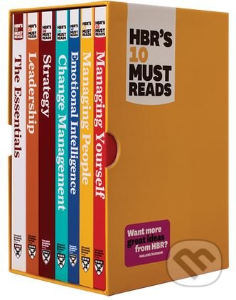 HBR's 10 Must Reads Boxed Set with Bonus Emotional Intelligence - Peter F. Drucker, Clayton M. Christensen, Daniel Goleman