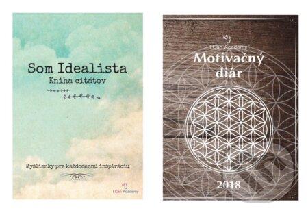Removu.cz Som Idealista + I Can Academy Motivačný diár 2018 Image