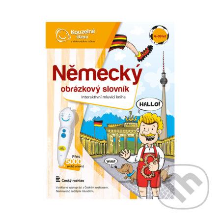 Kouzelné čtení kniha Německý obr. slovník - Albi