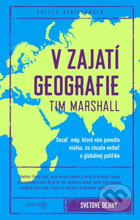 f9dc958de Kniha: V zajatí geografie (Tim Marshall)   Martinus