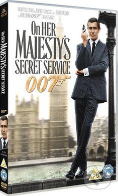 On Her Majesty's Secret Service DVD