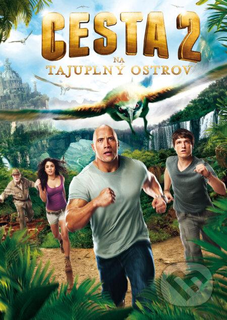 Cesta na tajuplný ostrov DVD