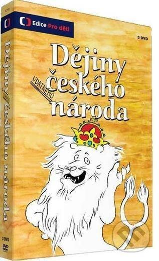 Dejiny udatného českého národa DVD