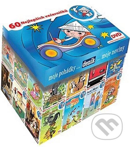 Večerníčkový BOX DVD - kolekce 63 večerníčků na DVD DVD
