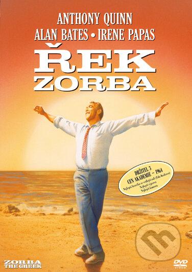 Řek Zorba DVD