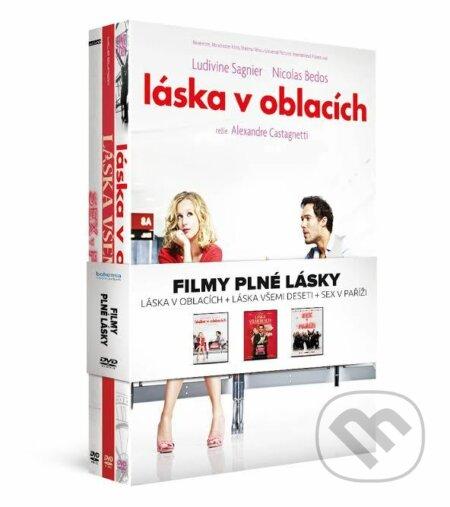 Filmy plné lásky (Kolekce 3 DVD) DVD