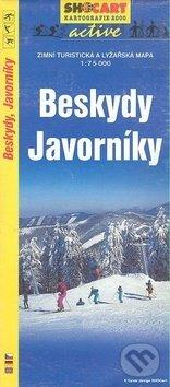 Interdrought2020.com Beskydy, Javorníky / turist. zimní 1:75T Image