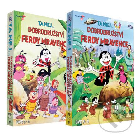 Dobrodružství Ferdy mravence (Kolekce 8 DVD) DVD