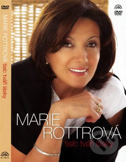 Marie Rottrová: Tisíc tváří lásky DVD