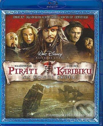 Piráti z Karibiku 3: Na konci sveta Blu-ray
