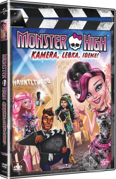 Monster High – Kamera, lebka, jedem! DVD
