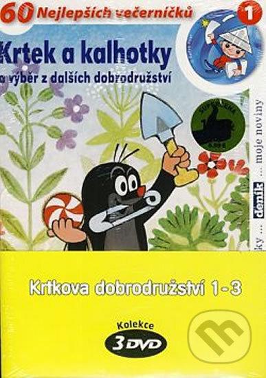 Krtkova dobrodružství 1-3 (pošetka) DVD