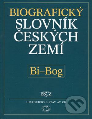 Fatimma.cz Biografický slovník českých zemí (Bi-Bog) Image